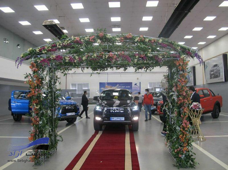 نخستین پیکاپ های T8 تحویل مشتریان کرمان موتور شد