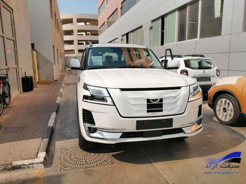 نیسان پاترول 2020 در امارات دیده شد