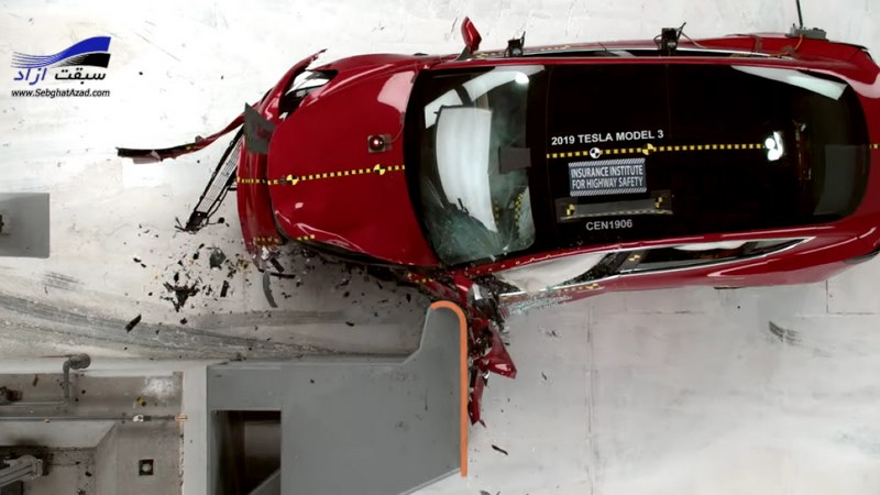 تسلا مدل 3 ایمنترین خودروی سدان جهان