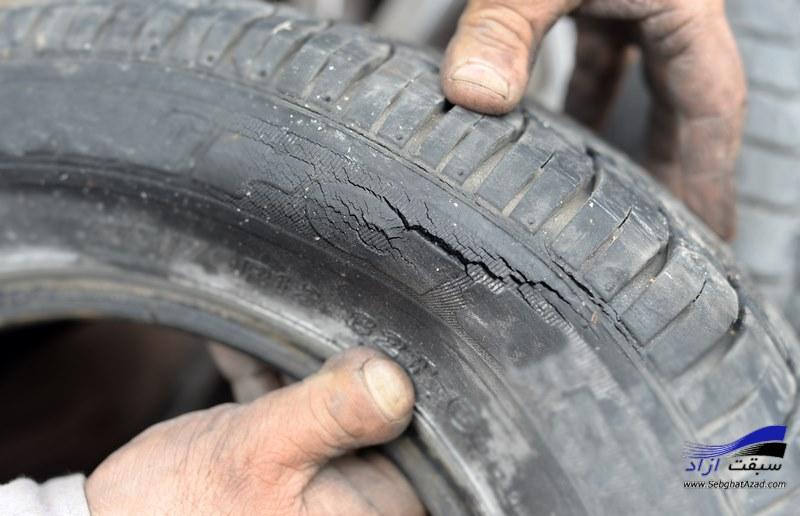 علائم هشدار جهت تعویض لاستیکهای خودرو