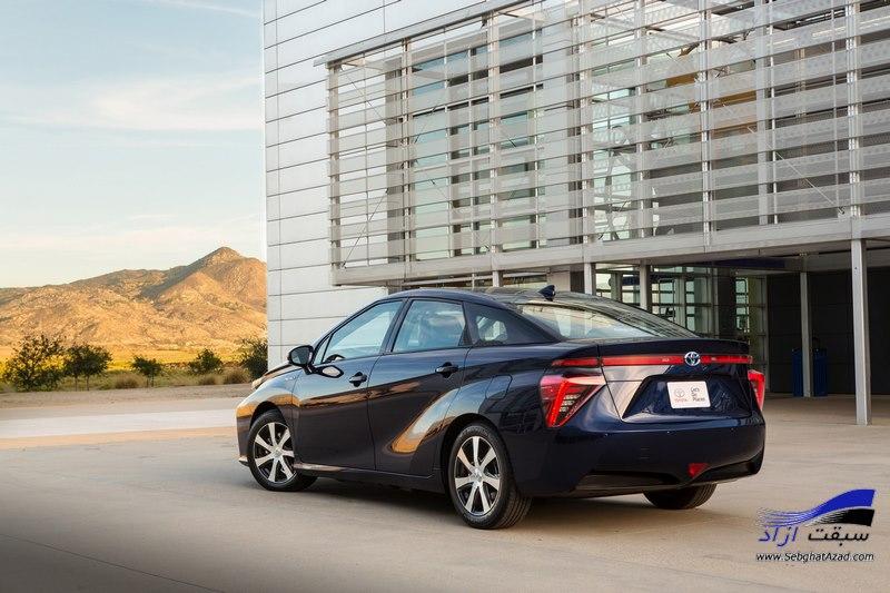 تولید نسل جدید ماشین هیدروژنی تویوتا