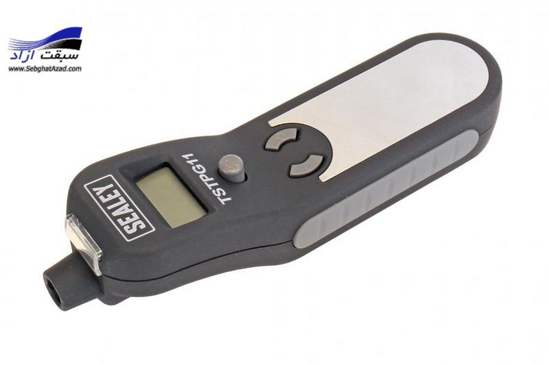 گیج فشار باد دیجیتال و گیج عمق آج لاستیک Sealy TSTPG11