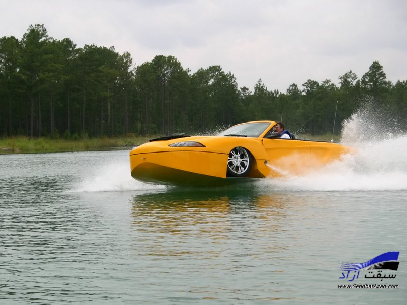 خودروی آبی- خاکی روباز Hydra Spyder