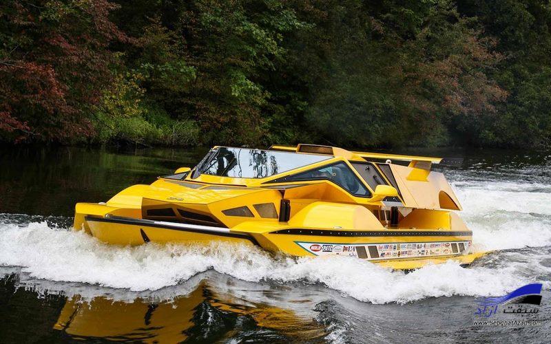 خودروی آبی- خاکی HydroCar