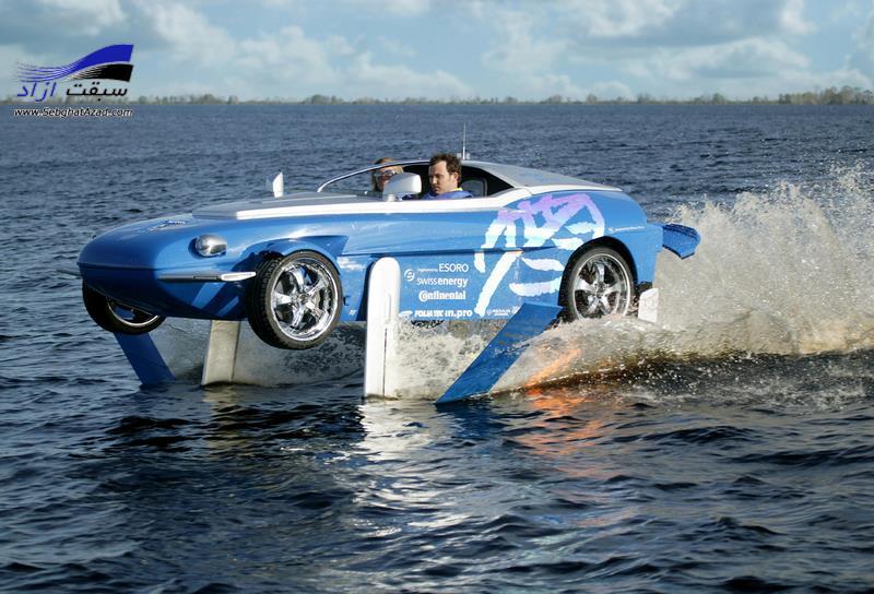 عجیب ترین خودروهای آبی خاکی جهان