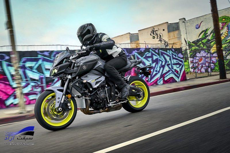 موتورسیکلت یاماها FZ 10 مدل 2017