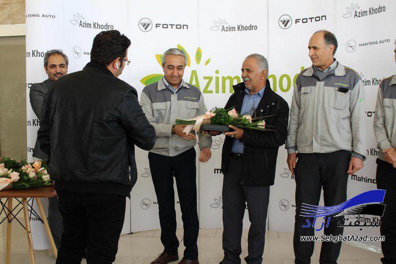 عظیم خودرو سری دوم خودروهای فوتون ساوانا را تحویل مشتریان داد