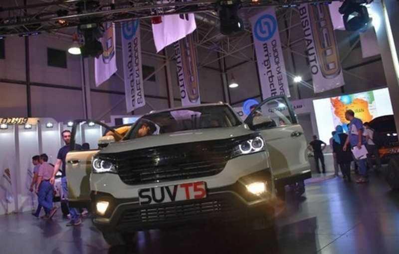 معرفی بیسو از سوی سیف خودرو در نمایشگاه خودروی مشهد