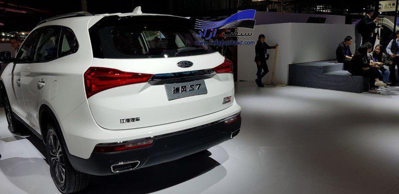 حضور جک اس7 در نمایشگاه خودروی پکن