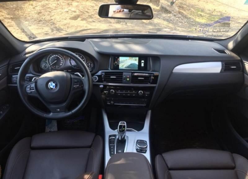 تجربه رانندگی با بی ام و X3 M Power مدل 2015