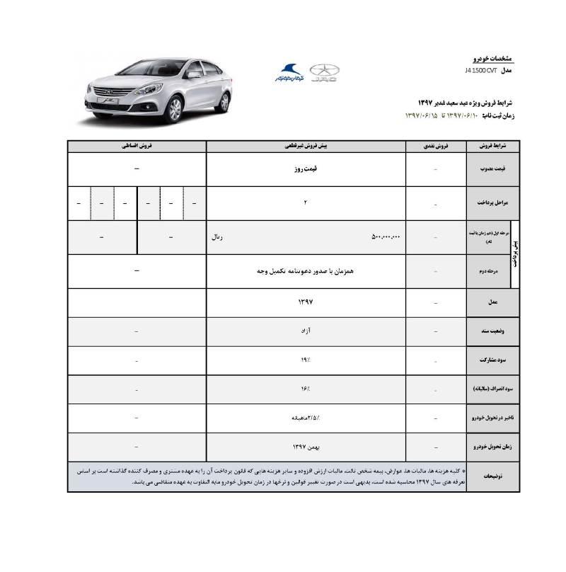 شرایط فروش محصولات جک ویژه عید سعید غدیر