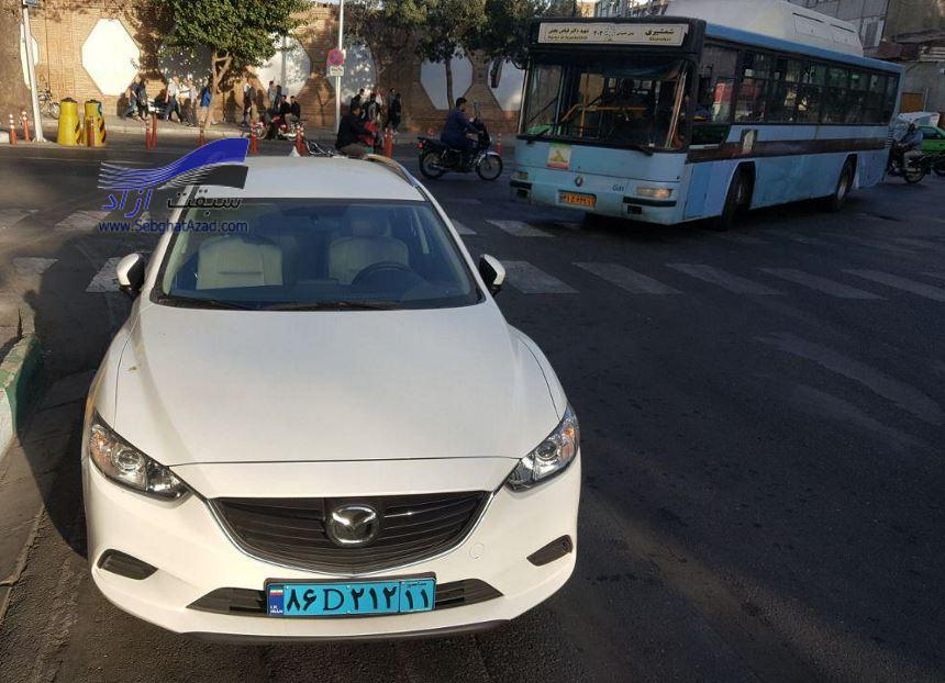 مزدا 6 استیشن مهمان خیابانهای ایران شد
