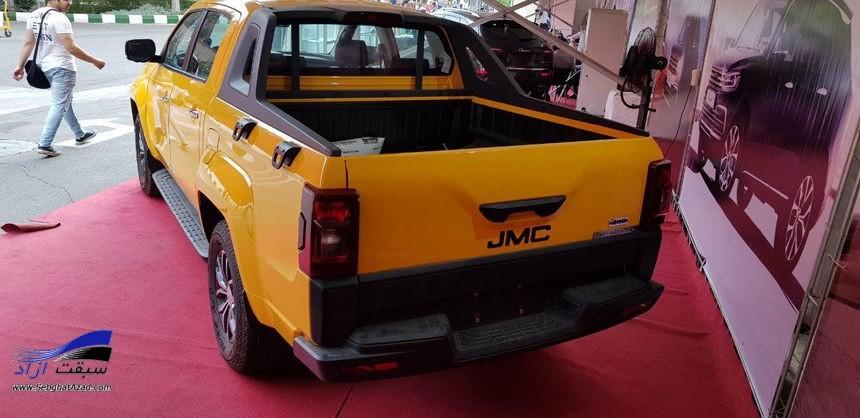 پیکاپ تایگر با ریگان خودرو در نمایشگاه فرصتهای ساخت داخل و رونق تولید حضور یافت